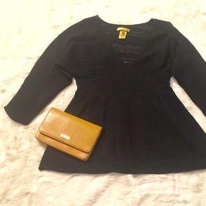 Catherine Malandrino Sweaters - Catherine Malandrino Wool Blend V-Neck Sweater