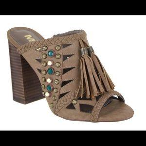 Beautiful mule sandals