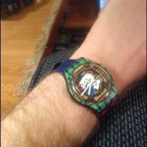 Swatch Accessories - McPattern Tartan Swatch Watch