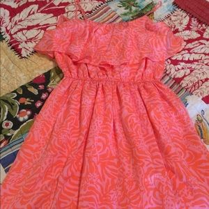 NWOT Lilly for Target Strap Dress w/Ruffles