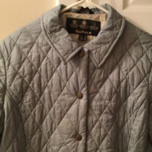 Barbour Jackets & Blazers - Barbour shaped F weight quilt short coat
