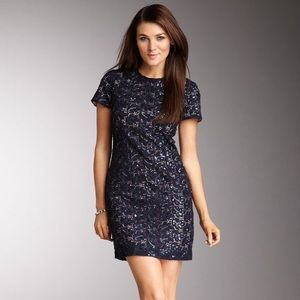NWT French Connection sequin lace dress