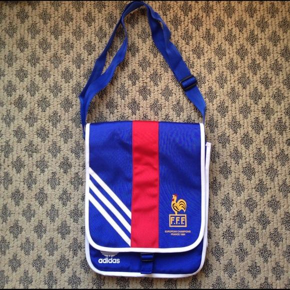 Adidas Handbags - ⚽️ADIDAS EUROPEAN CHAMPIONS FRANCE CROSS BODY BAG b54a0b0da9f2f