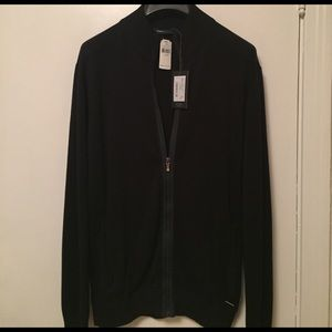 Ermenegildo Zegna Other - Zegna Sport zip up sweater. Navy blue