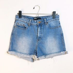 BDG Pants - BDG high rise cutoff denim shorts