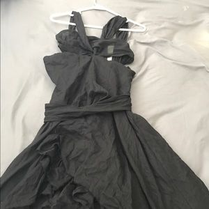 Pierre Balmain Dresses & Skirts - Pierre Balmain black cotton dress