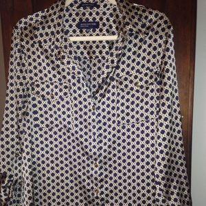 Jones NY silky blouse