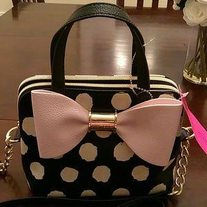 Betsey Johnson Handbags - NEW Betsey Johnson Mini Satchel