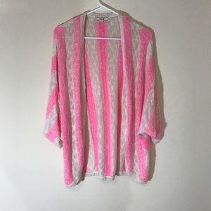 Pink Rose Sweaters - Pink rose cardigan