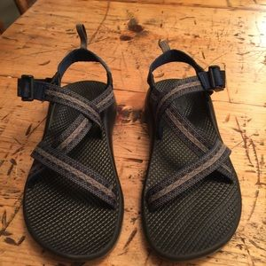 Chacos Shoes - Black and blue Chacos EUC