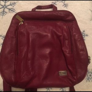 Wilsons Leather Handbags - Wilsons leather pelle studio red purse