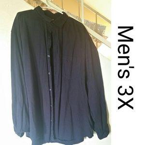 Men's 3X Button Down