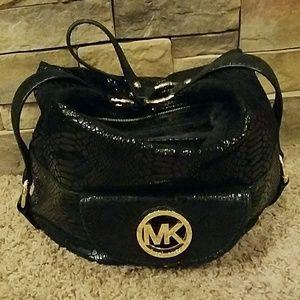 Michael Kors Handbags - Snakeskin Michael Kors Purse