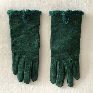 Accessories - Dark Green Very Warm Gloves