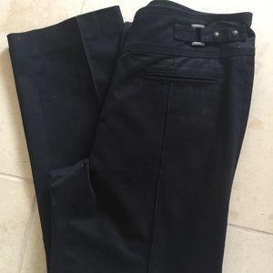 Cynthia Steffe Black Crop Pants