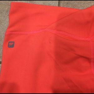 Fabletics Pants - Fabletics Capri size small hot pink