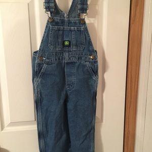 John Deere Other - John Deere denim overalls size 4T