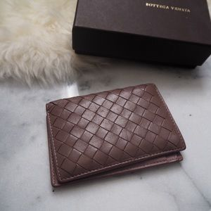 Bottega Veneta Handbags - Bottega Veneta Purple Card Holder