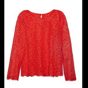 Diane von Furstenberg Tops - New Brielle Lace Top