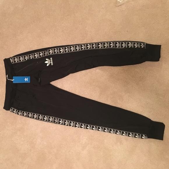 4aba6a7a23e0 Adidas Originals Poly Tape Pant