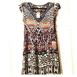 Dresses & Skirts - NWT FOREVER 21 Dress Tie-Up Sides Black XS