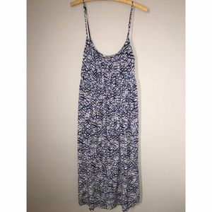 Daisy Fuentes Dresses & Skirts - Daisy Fuentes Shades of Blue Midi Dress Size M