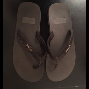 Bally Other - Bally leather flip flops
