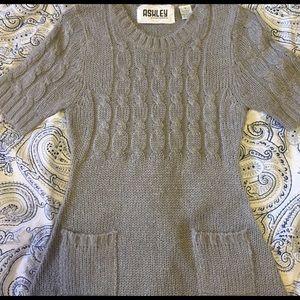 Ashley by 26 International Tops - Ashley by 26 International gray sweater top