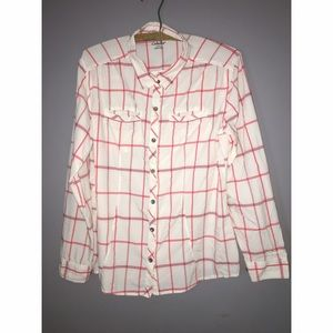 Cabela's Tops - Ladies Cabela's Button Down Nylon Shirt SZ M