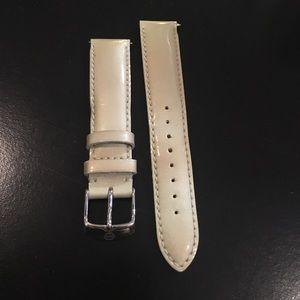 Michele Accessories - Michele Patent Leather 18 mm Strap