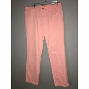 Tommy Hilfiger Pants - Tommy Hilfiger Pink Cotton Twill Pants Sz 11/12