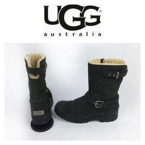 UGG Shoes - UGG SUEDE INTERNAL WOOL BOOTS SZ7