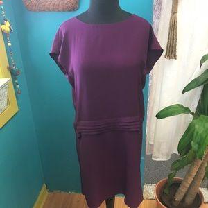 Elizabeth and James Dresses & Skirts - Elizabeth and James purple shift dress