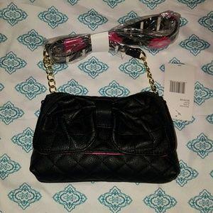 Betsey Johnson Handbags - Betsey Johnson bow floral shoulder bag