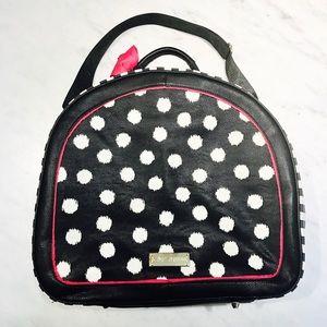 c1ddcbd328d Betsey Johnson Bags - Betsey Johnson Hat Box Round Weekender Bag
