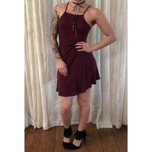 Brandy Melville Abigail Dress | Burgundy | OS