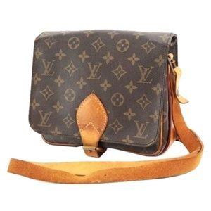 Louis Vuitton monogram Cartouchiere MM handbag