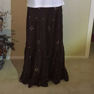 Dresses & Skirts - ON SALE! AUTOGRAPH NEW YORK - full Maxi skirt