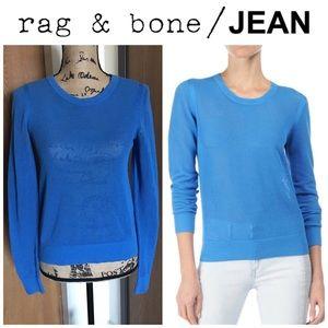 Rag & Bone/JEAN Katya Loose Open Knit Mesh Sweater