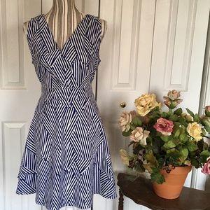 ModCloth Dresses & Skirts - MODCLOTH Sing the Same Pontoon Dress L