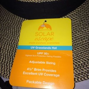 405f9e0e2d1 Accessories - Solar Escape women s new UV grasslands hat.