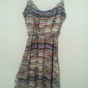 Quiksilver Dresses & Skirts - Quiksilver Stripped Dress