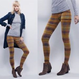 Free People Pants - 🆕 Free People Lose it Legging Sunset Stirrup wool
