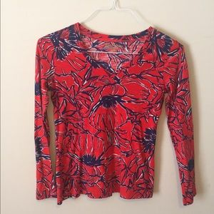 Lilly Pulitzer Tops - Long sleeve tee