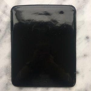 Accessories - Black Patent Ribcage iPad Tablet Sleeve