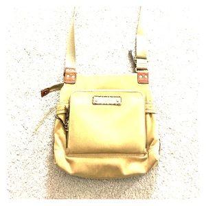 Fossil Handbags - 🗝 fossil tan Crossbody messenger style purse