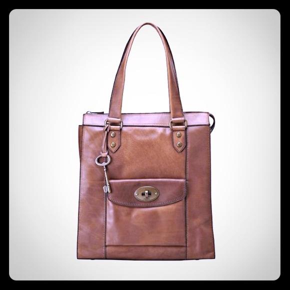 32fbd748c Fossil Handbags - FOSSIL® Handbag Vintage Revival Tote ZB5420