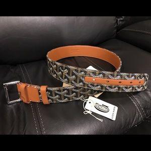 Goyard Other - Authentic men's Goryard belt