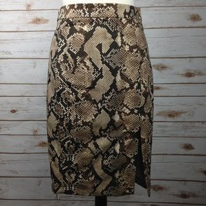 Altuzarra Dresses & Skirts - Altuzarra For Target Brown PythonSnake Print Skirt