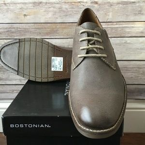 Bostonian Other - Mens Bostonian Verner Slate Leather Oxfords NIB